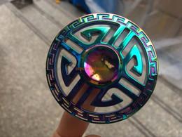 $enCountryForm.capitalKeyWord NZ - Hand spinner gyro color gorgeous guru manufacturers Chinese wind metal gyro colorful alloy war ax gyroscope decompression toys