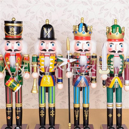 $enCountryForm.capitalKeyWord Canada - Walnut Soldier Pure Hand Drawing Wooden Nutcracker Puppet Multi Color Toys Christmas Gift Self Painted Craft Decoration Doll 13 5yf A R