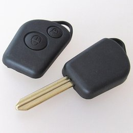 $enCountryForm.capitalKeyWord NZ - Car replacement key case for citroen Elysee 2 buttons remote key blank shell FOB cover