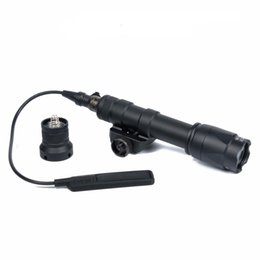 highest output flashlight NZ - Tactical flashlight M600C Spotlight Dual Output Hunting Flashlight LED Flashtorch