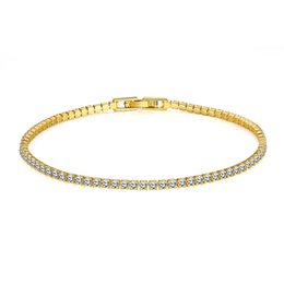 Chinese  18K gold plated charm bracelet with CZ diamond fashion jewelry for women fine gift high quality cheap wholesale manufacturers