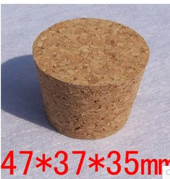 $enCountryForm.capitalKeyWord Canada - Package supplies Free shipping Cork bottle stopper Sealed wooden cork stopper bottle drifting 47*37*35mm ceramic bottle