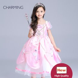 $enCountryForm.capitalKeyWord Canada - kids wear Girls' Pink Star Princess Costume kids apparel online shopping Girls Pageant Dress good wholesale websites