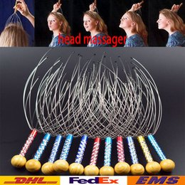 Barato Octopus Garra Cabeça Massager-Hot Head Massager Claw Octopus Hand Massage Head Pescoço Scalp Massager Aço Inoxidável Germinal Scalp Hair Care Massage WX-C47