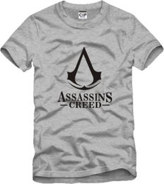 T-shirt Credo Pas Cher-Livraison gratuite T-shirt enfant T-SHIRT ASSASSINS CREED T-shirt gamer symbol assassin's creed T-shirt 100% coton T-shirt enfant 6 couleur Taille 90-150cm