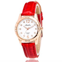 Wholesale fashionable ladies Watches online shopping - price fashion femaleHan edition fashionable ladies watch Set auger lady watch lady belt drill table Quartz watch