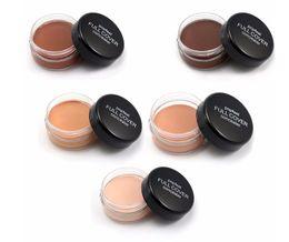 Natural Cover Makeup Canada - China Brand Base Makeup Foundation Face Full Cover Concealer Hide Blemish Cream Lip Dark Eye Circle Cover Long Lasting