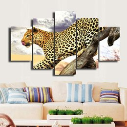 beautiful homes paint pictures NZ - 5 Panels Framed Wall Art Pictures Print On Canvas Painting For Home Kitchen Decoration theme -- Beautiful picture#043
