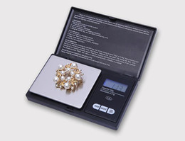 electronic digital jewelry scales UK - High Quality Pocket Mini Digital Scale 100g x 0.01g Electronic Precise Jewelry Scale High precision Kitchen scales With LED Backlight