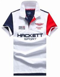 89644529fcb Good Quality 2017 Summer Great Britain Hackett polo Shirt Men Clothing  England Fashion HKT Sport shirts Cotton Racing Casual Polos