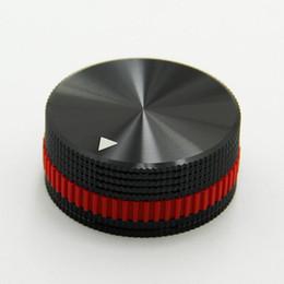 Venta al por mayor de Envío gratis 40mm perilla del potenciómetro electrónico DIY accesorios digitales Interruptor de volumen de sonido pomo del temporizador de la perilla de hifi