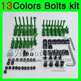 $enCountryForm.capitalKeyWord Australia - Fairing bolts full screw kit For KAWASAKI ZX12R 02 03 04 05 06 ZX 12R ZX-12R 2002 2003 2004 2005 2006 Body Nuts screws nut bolt kit 13Colors