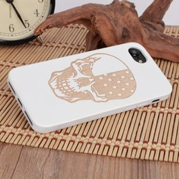 $enCountryForm.capitalKeyWord Canada - U&I®Newest Design Cool Pattern Wood Phone Case for IPhone 5 6 6plus 7 7plus Superior TPU Bumper Wood Cell Phone Case