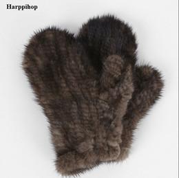 93ce8c949d2 Men genuine Mink fur online shopping - Harppihop Fur Genuine Mink Fur sofe  Gloves natural fur