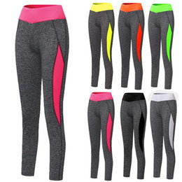 Barato Atacando Mais Legging-Atacado- Mulheres de cintura alta Lady Activewear Legging Inverno Slim Skinny Elastic Running Pant Leggings Workout Trousers Plus Size