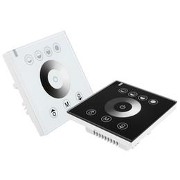 12v touch switch online shopping - Touching Panel LED Dimmer at V V switch power Led controller white or black shellpopular