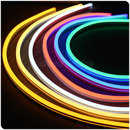 Wholesale 50m spool v ultra thin led neon light flex rope lights slim smd neonflex x18mm multi color soft tube for decoration