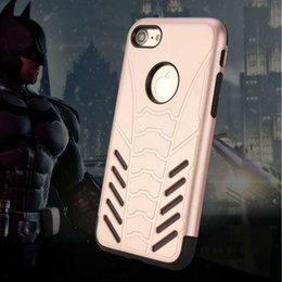 Discount tough cell phones - For iPhone X 8 7 Plus 6S Plus 5SE PC TPU Tough Hybrid Defender Cell Phone Case Colorful Hard Cover Rose Gold Black