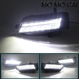 $enCountryForm.capitalKeyWord Canada - Car styling 2x Car LED Daytime Running Driving light Fog Fit For Volkswagen VW Golf 7