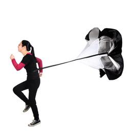 Umbrellas rUnning parachUtes online shopping - Run Chute Drag Parachute Strength Training Stamina Parachutes Running Explosive Force Motion Pack Umbrella Durable Umbrellas Hot Sell qb J