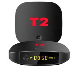 1 pcs T2 Android 7.1 Caixa de TV RK3229 Quad core 4 K 1 GB / 8 GB 2 GB / 16 GB Milhares Atualizado diariamente Filmes Programas de TV venda por atacado