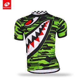 a98c17384 Bike Jersey Designs NZ - NUCKILY Men s summer short sleeve customized  polyester sharp tooth design road
