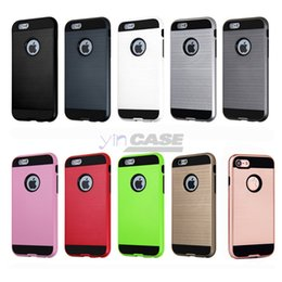 cell phone covers for samsung Canada - For Apple iphone 7 Armor Case For Samsung Galaxy S8 edge plus S8+ S7 edge note4 iphone 5s 6 6plus TPU PC Cell Phone Covers Cases