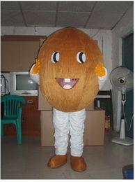 Orange Halloween Costumes Canada - Coconut Orange Durian fruit cartoon dolls mascot costumes props costumes Halloween free shipping