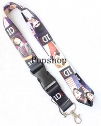 $enCountryForm.capitalKeyWord Canada - 1D Lanyard Keychain Key Chain ID Badge cell phone holder Neck Strap.