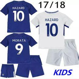 218da8fb9c7 ... KIDS 9 Alvaro Morata 2017 Chelsea Soccer Jersey 17 18 Football Shirts  Fabregas Chelsea Bakayoko Eden ...