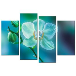 $enCountryForm.capitalKeyWord Canada - Charming Orchid Picture Giclee Print Contemporary Floral Photography Printed Canvas Artwork Flower Canvas Painting for Decoration