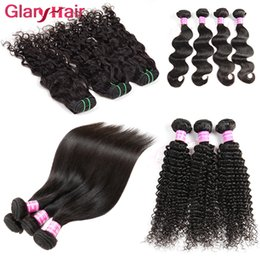 Corps De Machine À Eau Pas Cher-Articles les plus vendus Mink Brazilian Hair Hair Bundles Body Wave Straight Water Wave Kinky Curly Cheap Remy Human Hair Extensions Wholesales