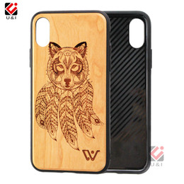 iphone 6s best prices Australia - Best Selling Wood Cell Phone Case For iPhone 6 7 8 6Plus 7Plus 8Plus X XR XS Max Wholesale Price