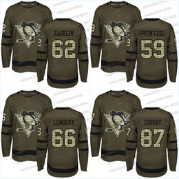 ... Youth 2017-2018 New Logo Pittsburgh Penguins 59 Jake Guentzel 87 Sidney  Crosby 66 Mario Kris Letang Youth Hockey Jersey Pittsburgh Penguins 58 ... dace8bd42