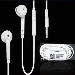 $enCountryForm.capitalKeyWord Canada - Earphone For Samsung S6 S6 edge Earphones Headphone Earbuds For iPhone 5 6s Headset In Ear With Mic Volume Control