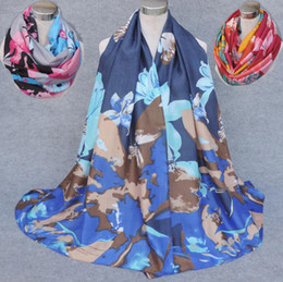 cotton viscose scarves Australia - 2017 New Meterial High Quality Viscose Scarf Butterfly Flower Print Women's Infinity Scarf Large Size Scarves Fish bone pattern Scarfs