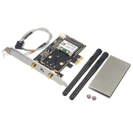 China Wholesale- Brand New 300Mbps Wireless Wifi PCI-E Card Desktop Adapter With Antenna Wireless Wifi Bluetooth 4.0 For MAC Desktop Laptop supplier laptop bluetooth adapter suppliers
