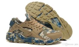 Thomas Shoes UK - Air Huarache Run Camo Thomas Sport Shoes Classic Huaraches Ultra Men Sports Running Shoes Famous Trainer Sneakers Size 36--46