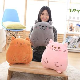 pusheen pillows hot sale 3 color 38x28cm pusheen cat pillow plush doll stuffed animals toys