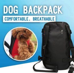 $enCountryForm.capitalKeyWord Canada - Lightweight Mesh Dog Carrier Backpack Super Breathable Durable Pet Bag Carrier for Small Dogs Cats Chihuahua Pet Travel Products