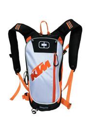 Ingrosso trasporto libero del motociclo di motocross KTM Hydration Pack nuove borse di stile Borse da viaggio da corsa pacchetti del casco della bicicletta pacchetto BB-KTM-06