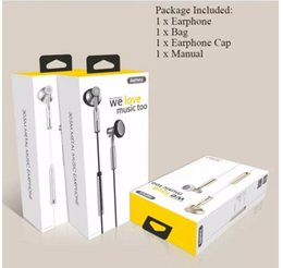 $enCountryForm.capitalKeyWord Canada - Remax 305M Earphones Noise Canceling With Microphone Wired Sport Music Headset For smart Phone with retail box