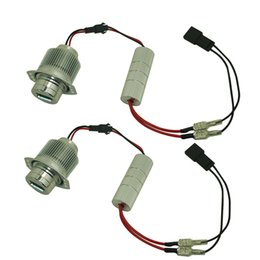 Discount angel eyes bulbs - LEEWA 2pcs White Cree 6000K 32W Angel Eyes LED Halo Light Bulbs for BMW E90 E91 325i 328i 335i 335xi #5365