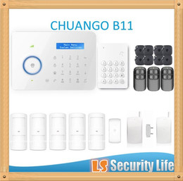 Chinese  Hot selling B11 Chuango Dual network PSTN and GSM burglar Security Alarm System CGP420kit manufacturers