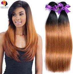 Discount good quality indian hair weave 2017 good quality indian 3 pcs ombre color virgin brazilian malaysian indian silky straight human hair weaves remy hair bundles double machine weft good quality hair affordable good pmusecretfo Image collections