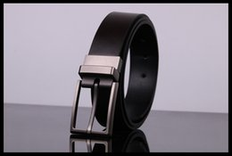 Double Sided Leather Belts NZ - The new tide of men's leather belt authentic double-sided frosted rotating needle agio leisure belt manufacturer undertakes to high quality