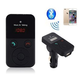 Wireless bluetooth voice recorder online shopping - Newest Universal Car Kit Wireless Bluetooth FM Transmitter Radio Music MP3 Player USB For SD LCD Remote Handsfree