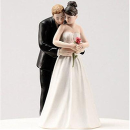 Discount Wedding Cake Topper Beach Couple 2017 Wedding Cake