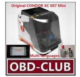 Good Key Canada - 2017 New good Original Multi-Languages CONDOR Mini-XC 007 Master auto Key Cutting Machine CONDOR XC007 Mini better than Slica key machine