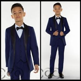 2018 Günstige Jungen Smoking Jungen Abendessen Anzüge Jungen Formale Anzüge Smoking für Kinder Smoking